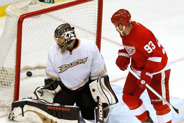 ESPN Gamecast: Red Wings vs. Ducks