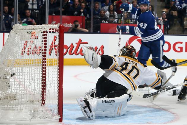 Leafs Get Past Bruins at Home, Force Game 7