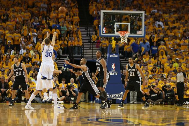The Many Ridiculous Shots in Steph Curry's Arsenal