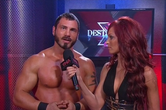 TNA's Austin Aries Isn't Going Anywhere After Christy Hemme Crotch-Gate
