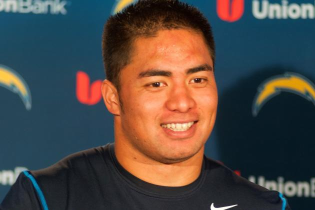 Life in Earnest in the NFL Begins Today for Manti Te'o in San Diego