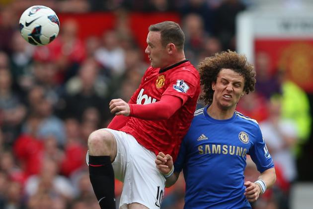 David Luiz Would Welcome Manchester United Striker Wayne Rooney to Chelsea