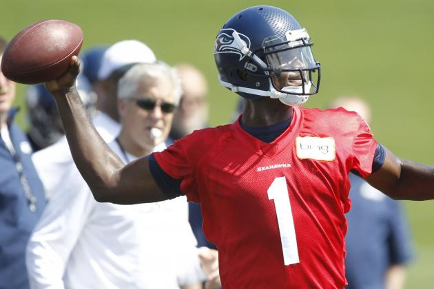 Jerrod Johnson Hopes to Win Backup QB Job with Seahawks