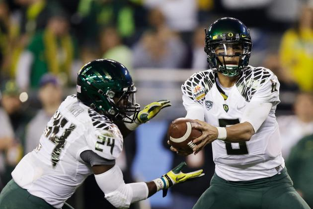 Oregon Football 2013: Why Marcus Mariota Is the Best Dual-Threat QB in the FBS