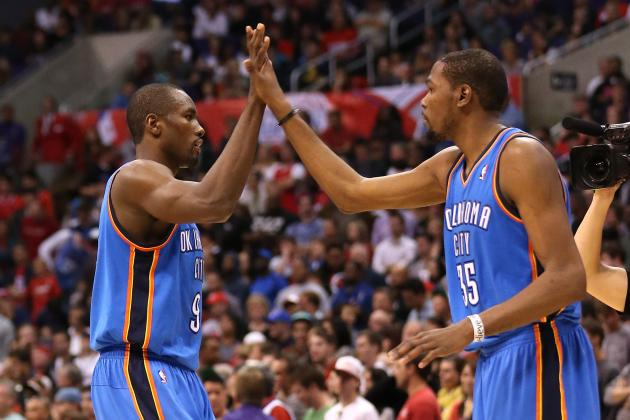 Kevin Durant: Serge Ibaka's Shooting Problems 'All in His Mind'