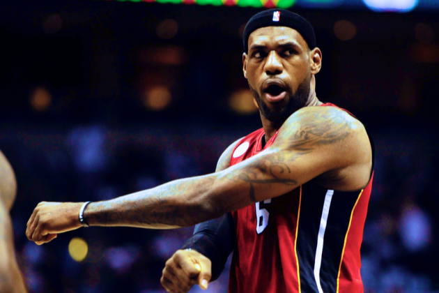 LeBron James Responds to Talk of Flopping, Saying He's Not One of 'Those Guys'