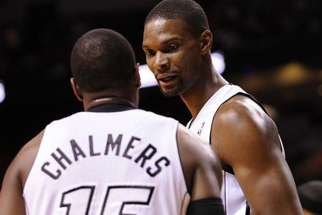 Chris Bosh Explains Why He Yelled at Mario Chalmers in Game 3