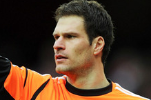 Asmir Begovic Insists He Is Happy to Stay at Stoke for Now