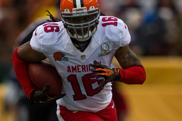 Cribbs Arrives in Detroit, Has Four Total Suitors