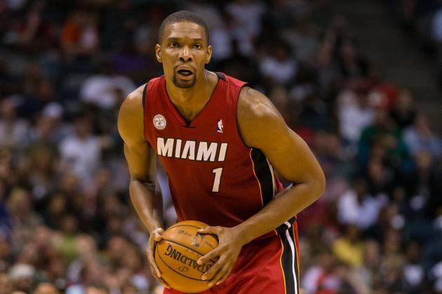 Heat Need Chris Bosh to Continue Playing Inside