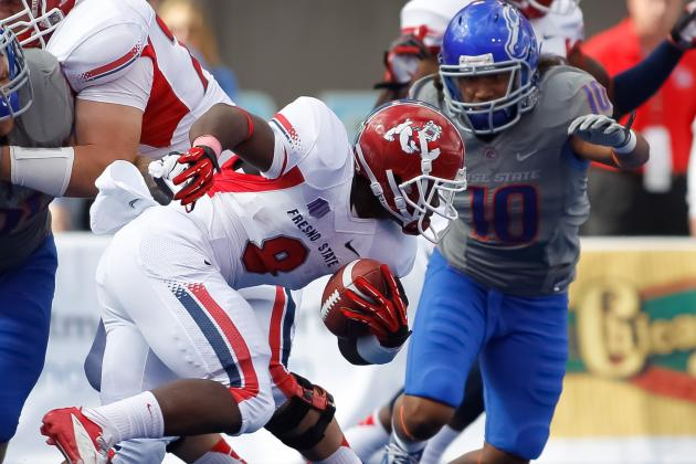 Browns Add Fresno State RB Rouse as UDFA