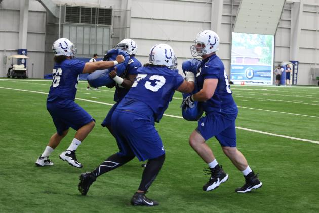 Position Battles Will Highlight 2013 Indianapolis Colts OTAs and Training Camp