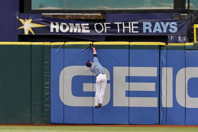 Rays Outfielders Rob Padres of Extra Bases