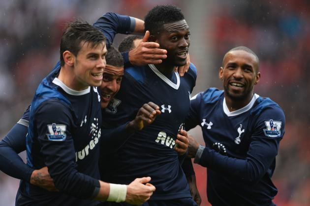 Tottenham Striker Emmanuel Adebayor Eager to 'Kill' Arsenal