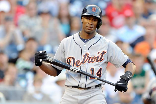 Tigers Place Jackson on DL, Recall Garcia
