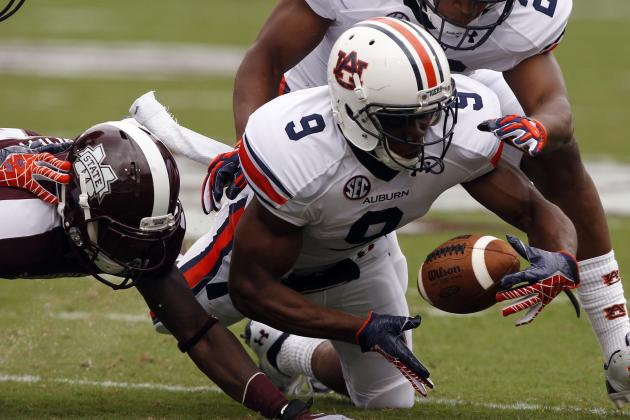 Auburn's Chris Davis Clear Starter at Boundary Cornerback