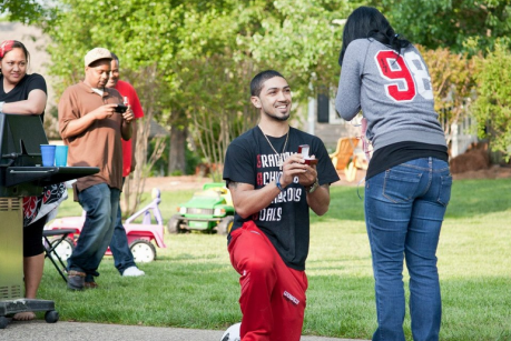 Louisville's Peyton Siva Proposes to Girlfriend (PHOTO)
