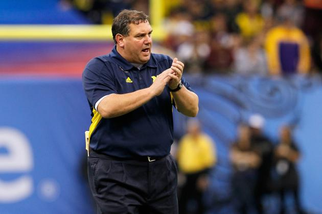 Brady Hoke Says Notre Dame Is 'Chickening Out' of Series with Michigan