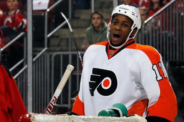 Simmonds Scores in Canada's Win