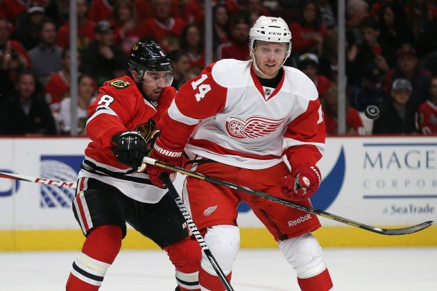 10 Things to Know: Red Wings vs. Blackhawks