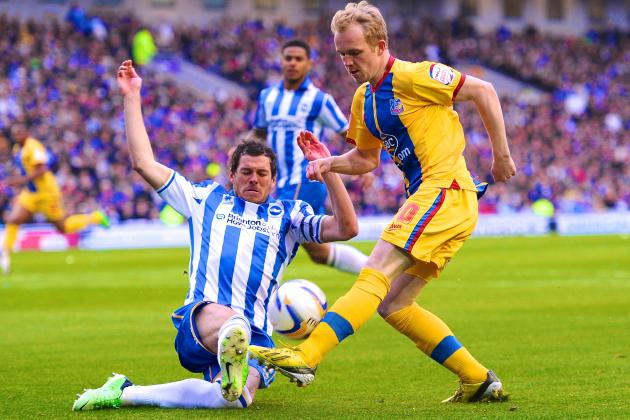 Brighton vs. Crystal Palace: Championship Playoff 2nd Leg Live Score, Recap