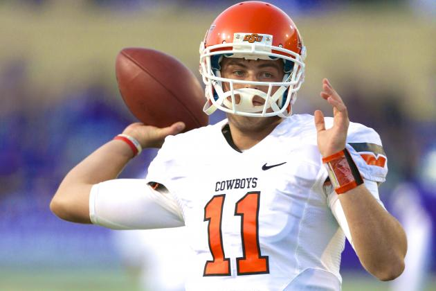 Tennessee Should Push for Former Oklahoma State QB Wes Lunt