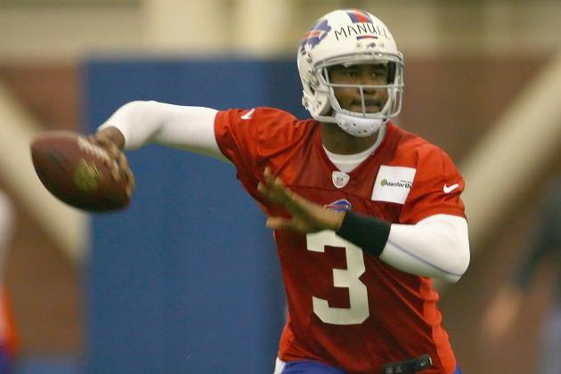 E.J. Manuel Studying Bills' Playbook 'Like Crazy'