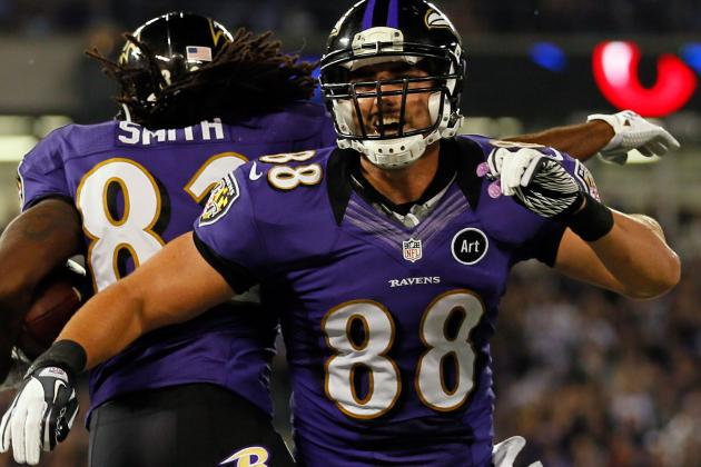 Dennis Pitta Signs Restricted Tender, Ravens Sign Four Undrafted Rookies