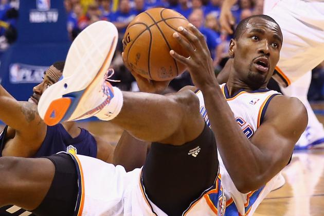 Serge Ibaka Named to All-Defensive 1st Team