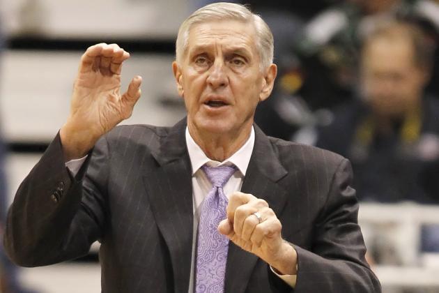 Report: Jerry Sloan, Bucks Have Met on Coaching Job