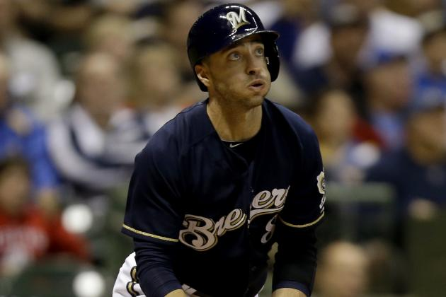 Rickie Weeks, Ryan Braun out of the Starting Lineup