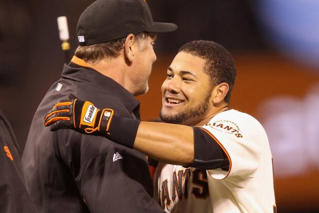 Bruce Bochy Will Present World Series Ring Melky Cabrera