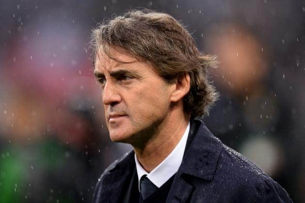 Man City Axe Mancini a Year After Premier League Title Triumph