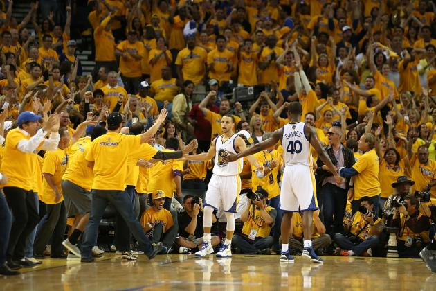 2013 NBA Playoffs: Stephen Curry Puts the Warrior in Warriors