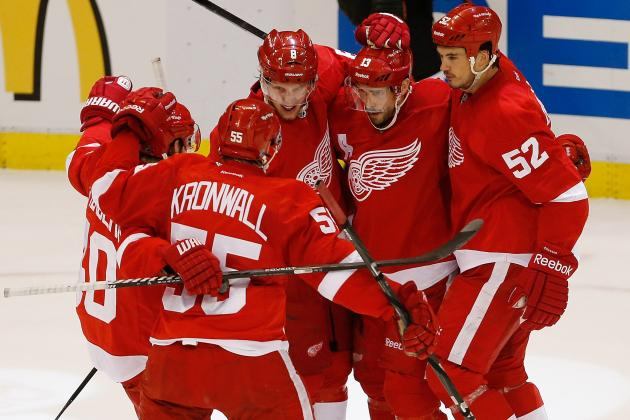 Red Wings Playoff Schedule 2013: Complete TV Info and Guide to 2nd Round