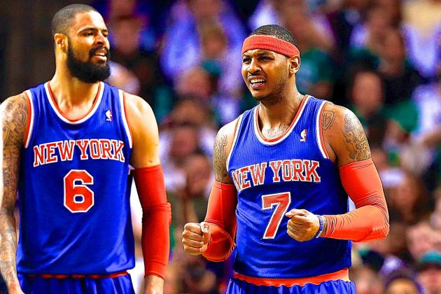 Tyson Chandler Says Knicks Need to Share the Rock More
