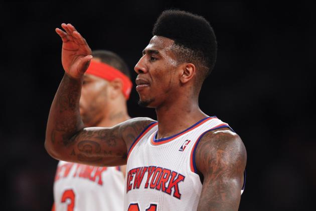 Iman Shumpert's Knee Soreness Couldn't Come at a Worse Time for Stumbling Knicks