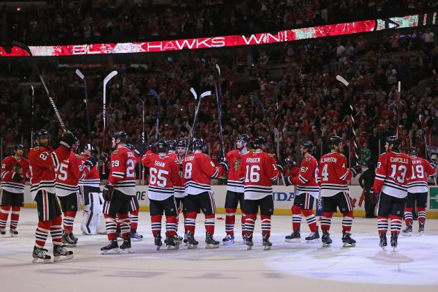 Blackhawks Playoff Schedule 2013: Complete TV Info and Guide to Second Round