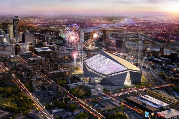 Minnesota Vikings Reveal Design for Multi-Purpose Stadium