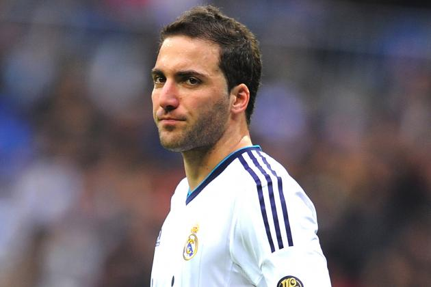 Arsenal Transfers: Real Madrid Striker Gonzalo Higuain 'Agrees to Join Gunners'