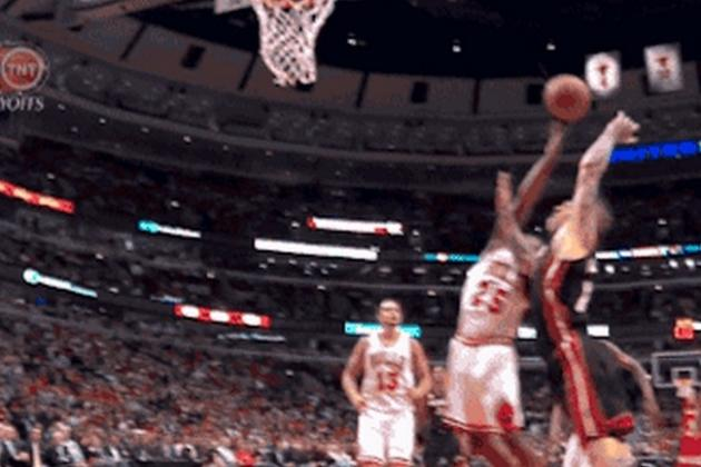 Bulls' Teague Scores for the Heat