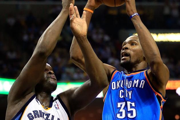 NBA Gamecast: Thunder vs. Grizzlies