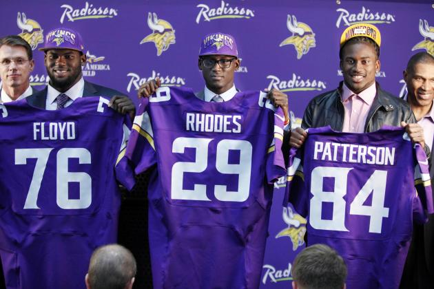What to Expect from the Minnesota Vikings' 1st-Round Draft Picks