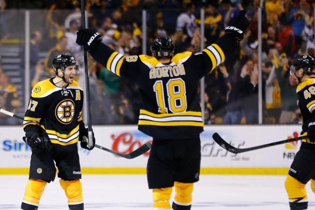Video: Bruins Score Twice in Last 1:22 to Tie Game 7