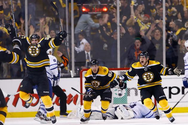 Bruins Beat Maple Leafs in OT Thriller