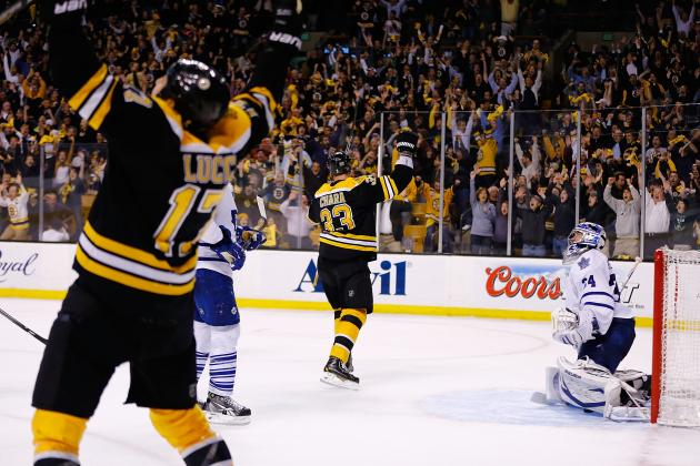 Boston Bruins Overcome Huge Deficit to Win Game 7 in Overtime