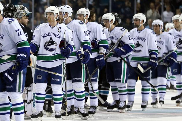 Report Card for Vancouver Canucks' 1st-Round Playoff Defeat