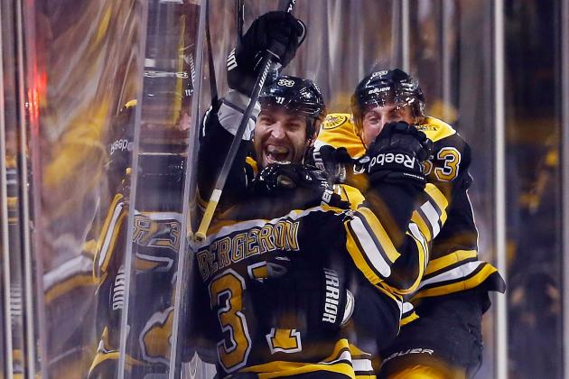 Video: Bergeron Jams Home the OT Winner