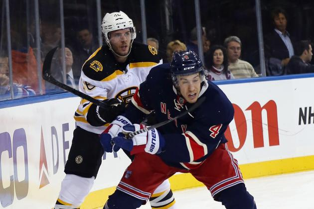 Rangers-Bruins Set for First Playoff Meeting in 40 Years