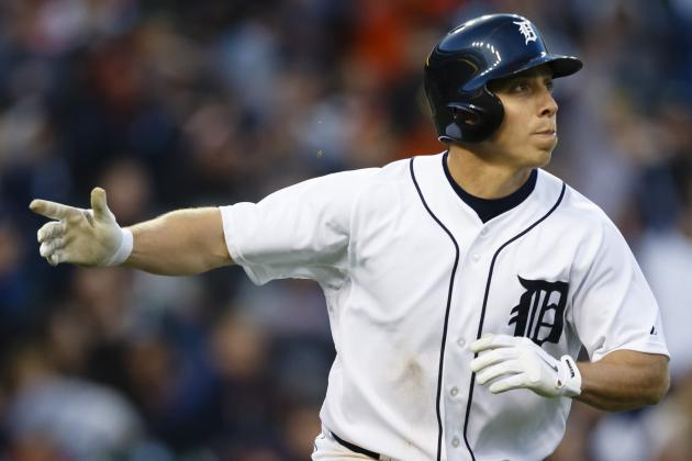 Detroit 7, Houston 2: Andy Dirks Hits Grand Slam as Tigers Roll